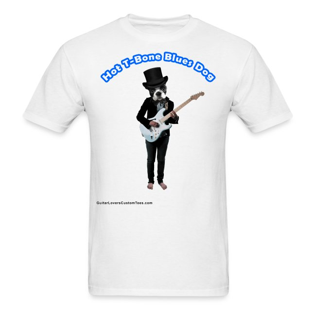BluesDog by GuitarLoversCustomTees png