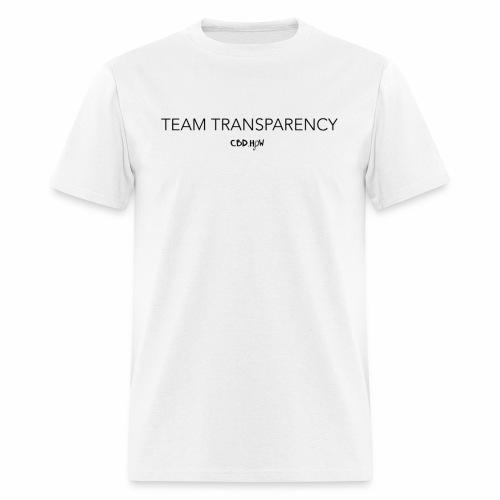 Team Transparency skinny - Men's T-Shirt