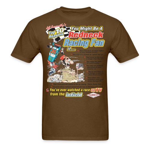 racing white only - Men's T-Shirt