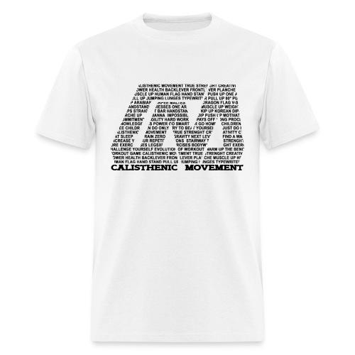 CM logo from text black - Men's T-Shirt