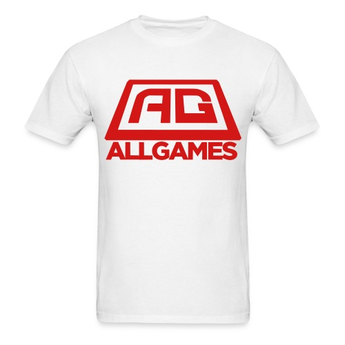 AG Logo Text Vector - Men's T-Shirt