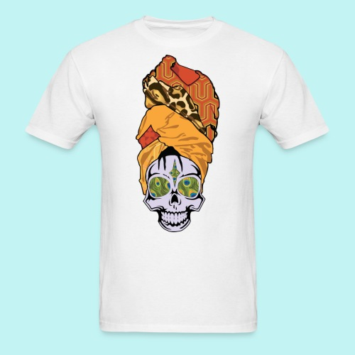 ERYKAH BADU SKULLY - Men's T-Shirt