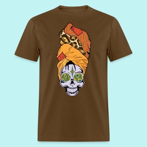 ERYKAH BADU SKULLY - Men's T-Shirt