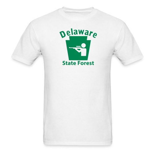 Delaware State Forest Hunting Keystone PA - Men's T-Shirt