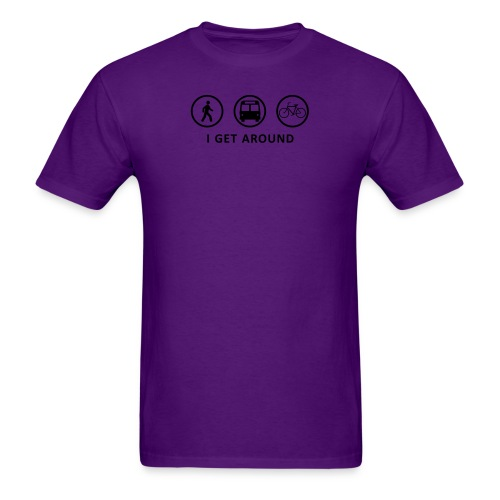 WalkBikeRide-ALT2 - Men's T-Shirt