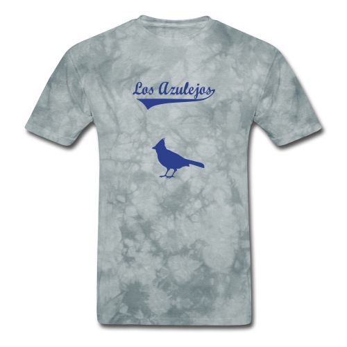 los azulejos text in dark blue 2 - Men's T-Shirt