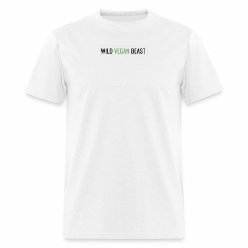 wild vegan beast - Men's T-Shirt