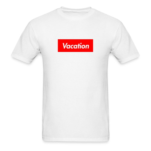 TheVacation (Supreme logo) - Men's T-Shirt