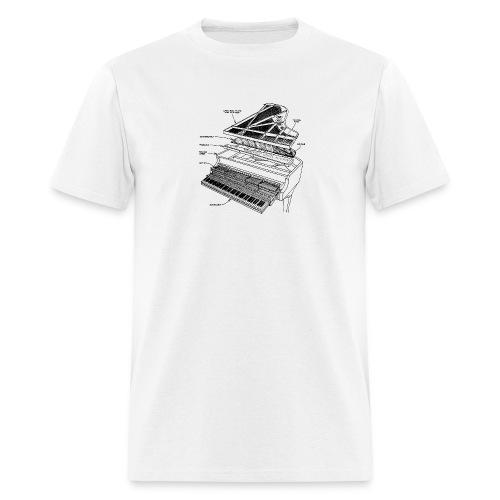 ExplodedPiano1 GIF - Men's T-Shirt