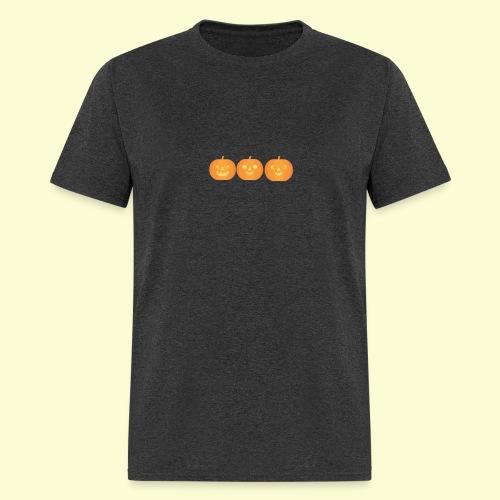 3 carved pumpkins - Men's T-Shirt