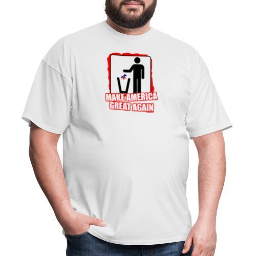 MAGA TRASH DEMS - Men's T-Shirt