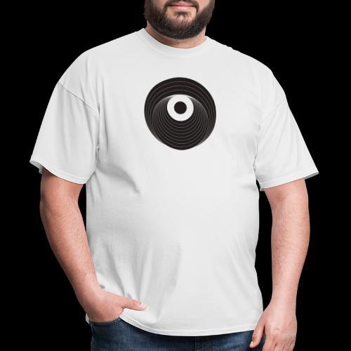 Black Dirt Vortex Logo Dark - Men's T-Shirt