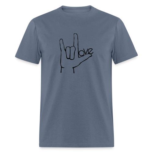 Love rock - Men's T-Shirt