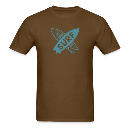 Love surf live - Men's T-Shirt