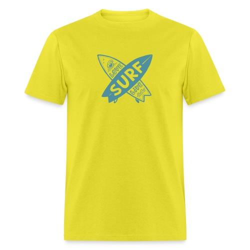 Love surf live - Men's T-Shirt