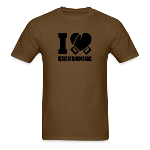 I Love Kickboxing - Men's T-Shirt
