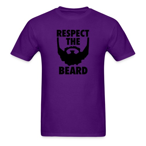 Respect the beard 05 - Men's T-Shirt
