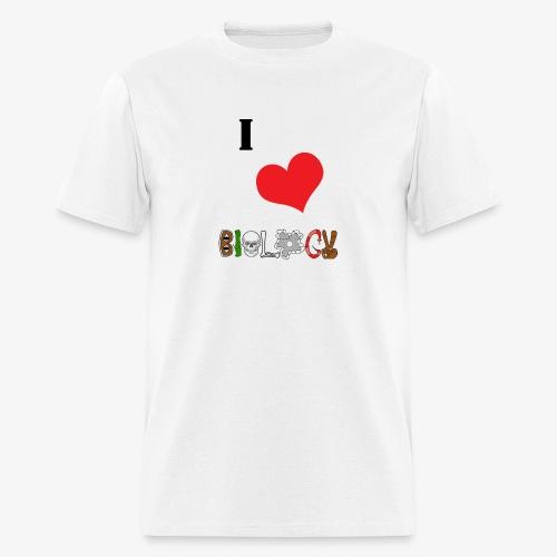 ilovebios - Men's T-Shirt