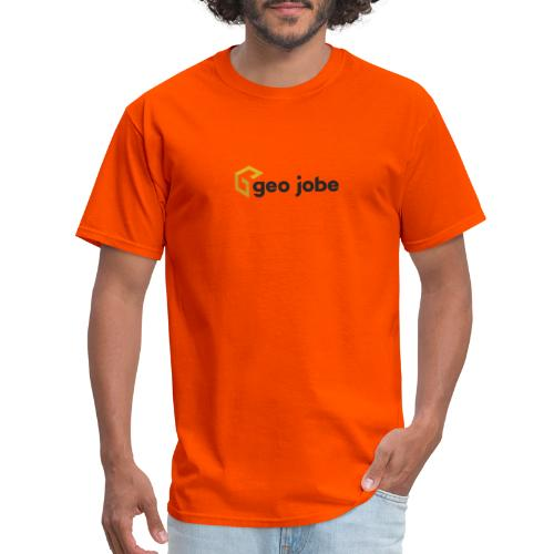 GEO Jobe Corp Logo - Black Text - Men's T-Shirt