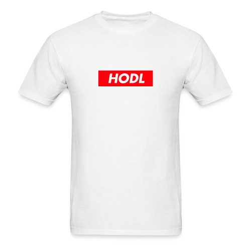 Hodl BoxLogo - Men's T-Shirt
