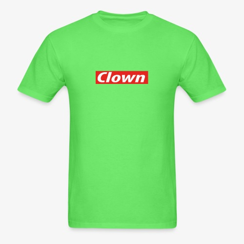 Clown box logo - Men's T-Shirt