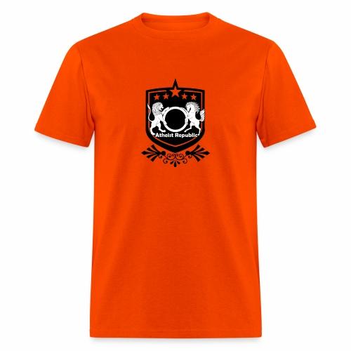 Atheist Republic Logo - Starred Badge - Men's T-Shirt