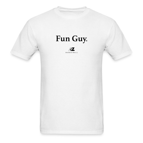 Fun Guy White - KL Basketball Shirt - Men's T-Shirt
