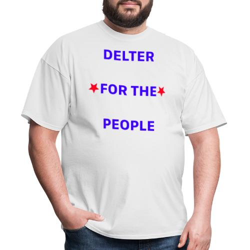 DELTER FOR THE PEOPLE - Men's T-Shirt