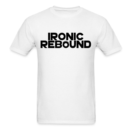 ironic rebound 5 png - Men's T-Shirt