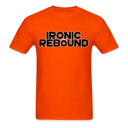ironic rebound 5 png - Men's T-Shirt