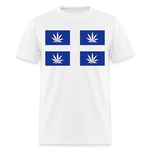 Drapeau Quebec pot - Men's T-Shirt
