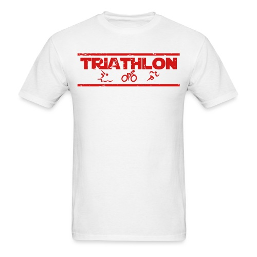 Triathlon SWIM BIKE RUN - Men's T-Shirt