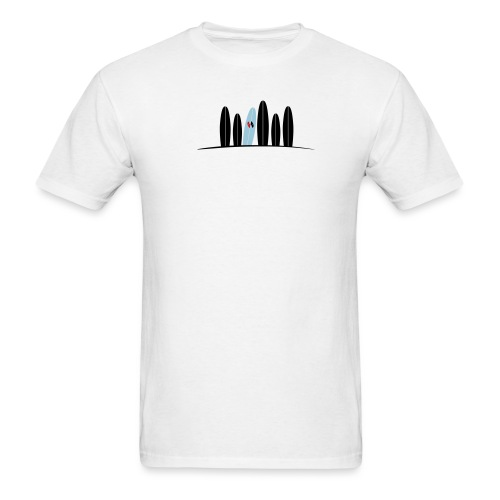 justinfinalwhitebkg1 - Men's T-Shirt