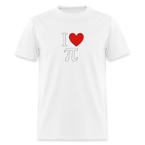 ilovepi - Men's T-Shirt