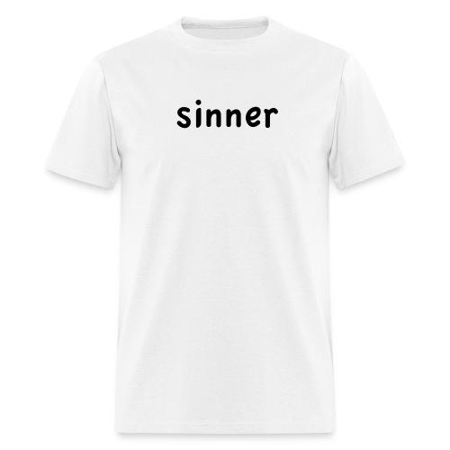 sinner - Men's T-Shirt