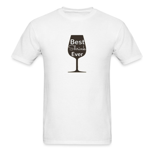 Alcohol Shrink Is The Best Shrink - Men's T-Shirt
