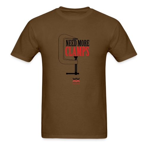 Need more clamps - Men's T-Shirt