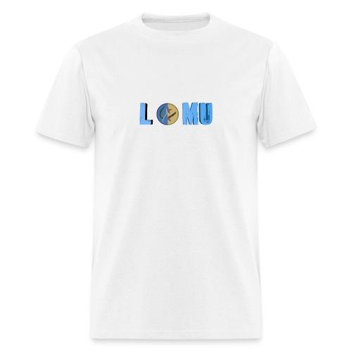 Blue T or CT - Men's T-Shirt