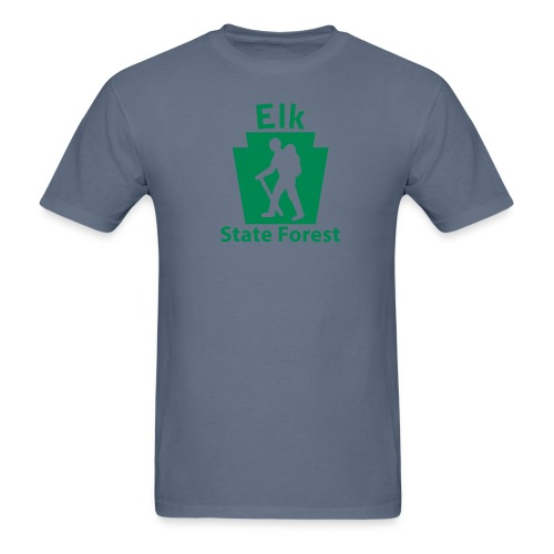 Elk State Forest Keystone Hiker male - Men's T-Shirt