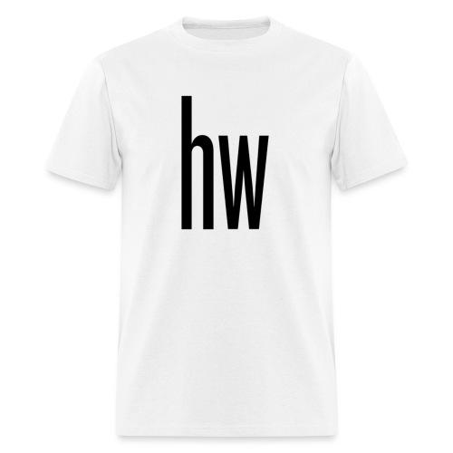 hw logo (Organic) - Men's T-Shirt