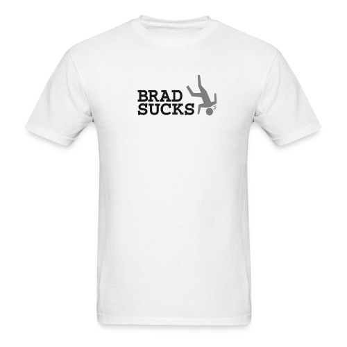 bradsucks shirt png - Men's T-Shirt