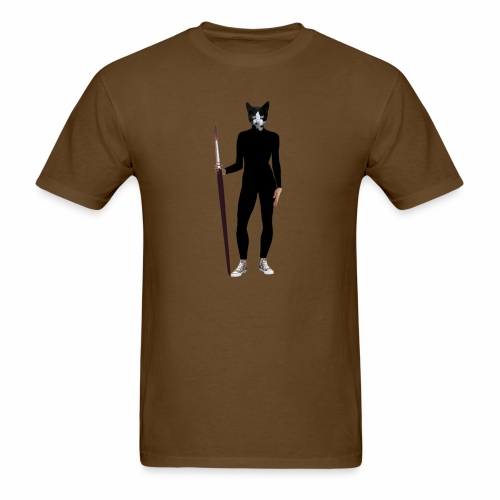 Cat Artist - Men's T-Shirt