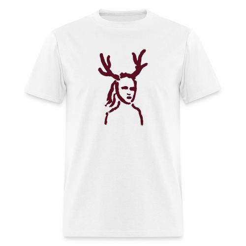 Antler Girl - Men's T-Shirt