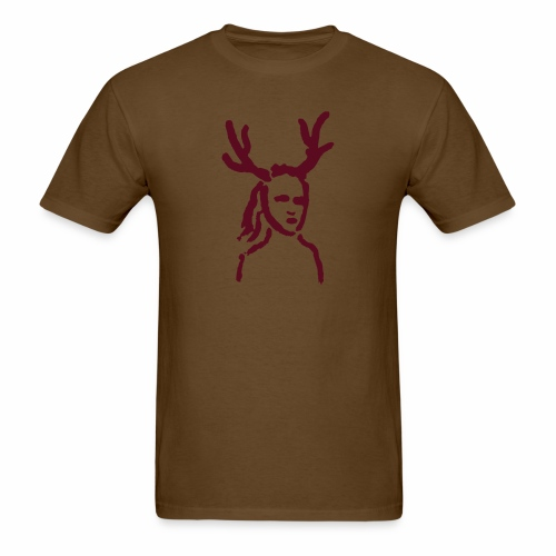 Antler Girl - Men's T-Shirt