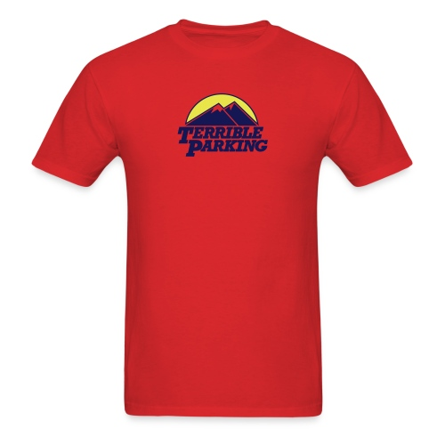 Terrible Parking - Men's T-Shirt