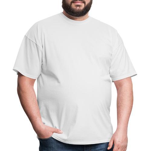 go bw white text - Men's T-Shirt