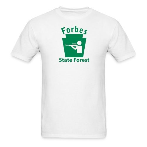 Forbes State Forest Hunting Keystone PA - Men's T-Shirt