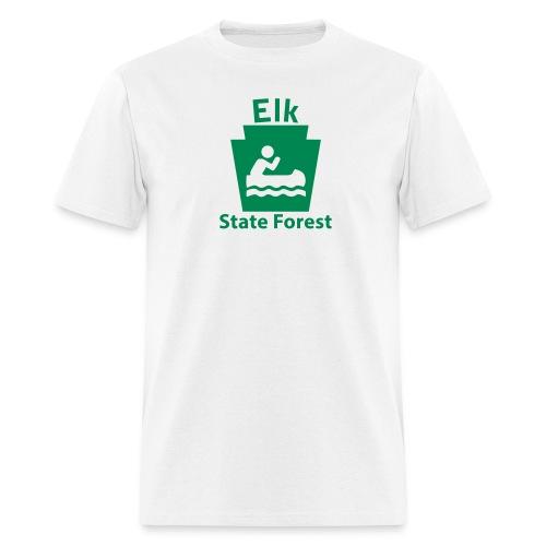 Elk State Forest Boating Keystone PA - Men's T-Shirt