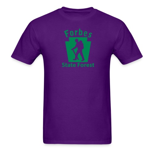 Forbes State Forest Keystone Hiker male - Men's T-Shirt