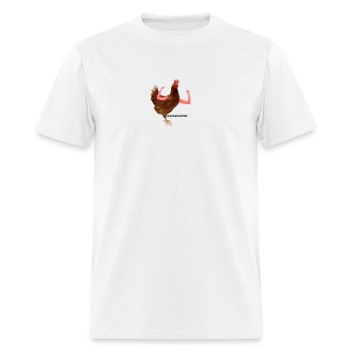 ChickenLover Box Logo T-shirt - Men's T-Shirt